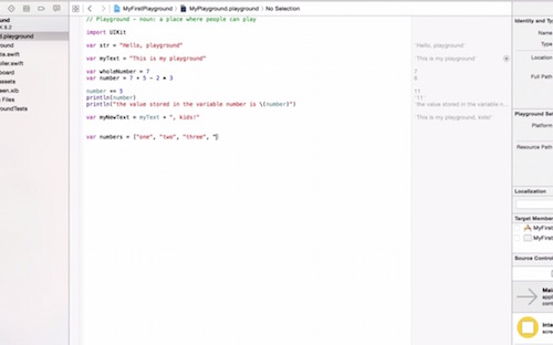 manipulate arrays playgrounds swift collections