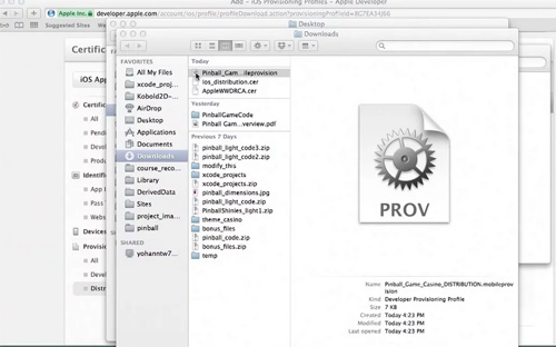 create app provisioning profile ios tutorial