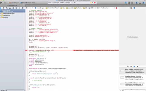 iOS developer tutorial Troubleshooting newer xcode