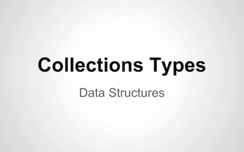 iOS app development tutorial Collections programming