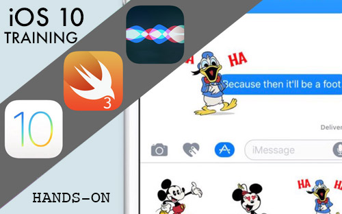 new iOS10 features and app video tutorials