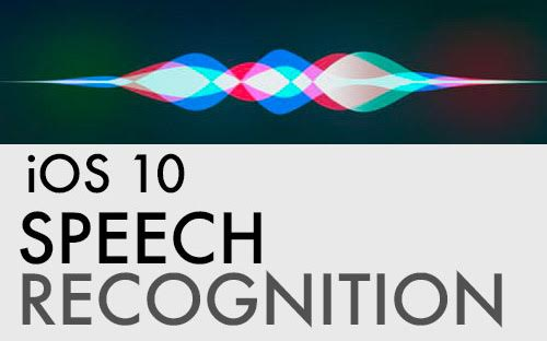 How to make speech recognition app
