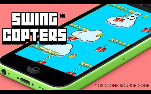 iOS App Development Tutorial | Create Swing Copters iPhone Game Clone