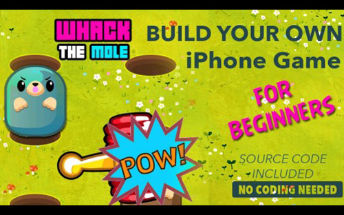 iOS App Development Tutorial | Build Whack a Mole iPhone Game beginners