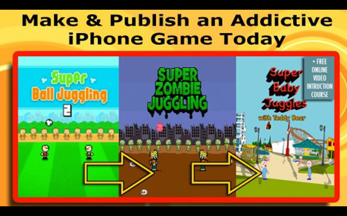 iOS App Development Tutorial | Zombie Juggling iPhone Game Clone
