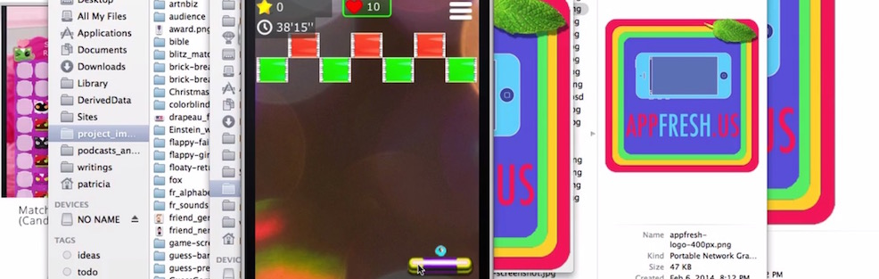 Arcade Brick Game iOS Tutorial