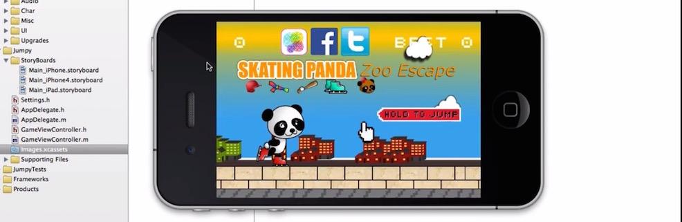 Jumpy Skating Game iOS Tutorial