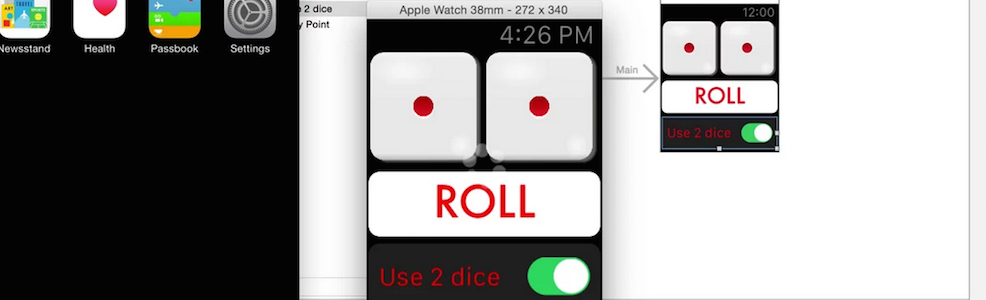 Roll the Dice Apple Watch App