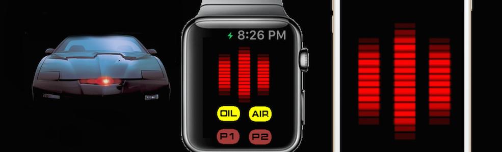 KITT Knight Rider Voice Box Apple Watch App