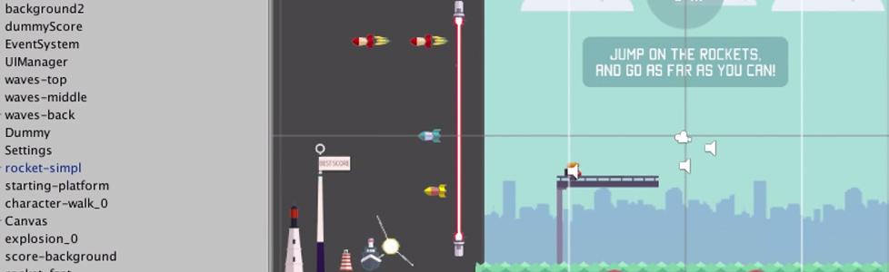 Captain Rocket game template live webinar