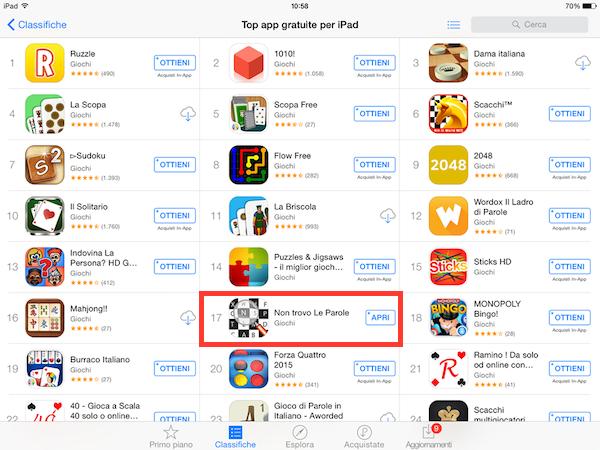 Luca Petrucci Non Trovo Le Parole in the App Store