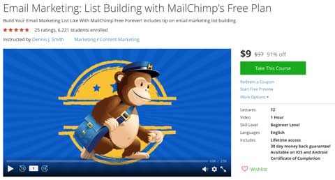 free-coupon-email-marketing-course-mailchimp